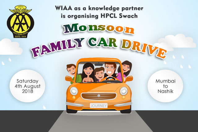 HPCL Swach Monsoon Family Car Drive