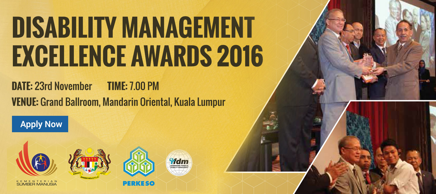Disability Management Excellence Awards