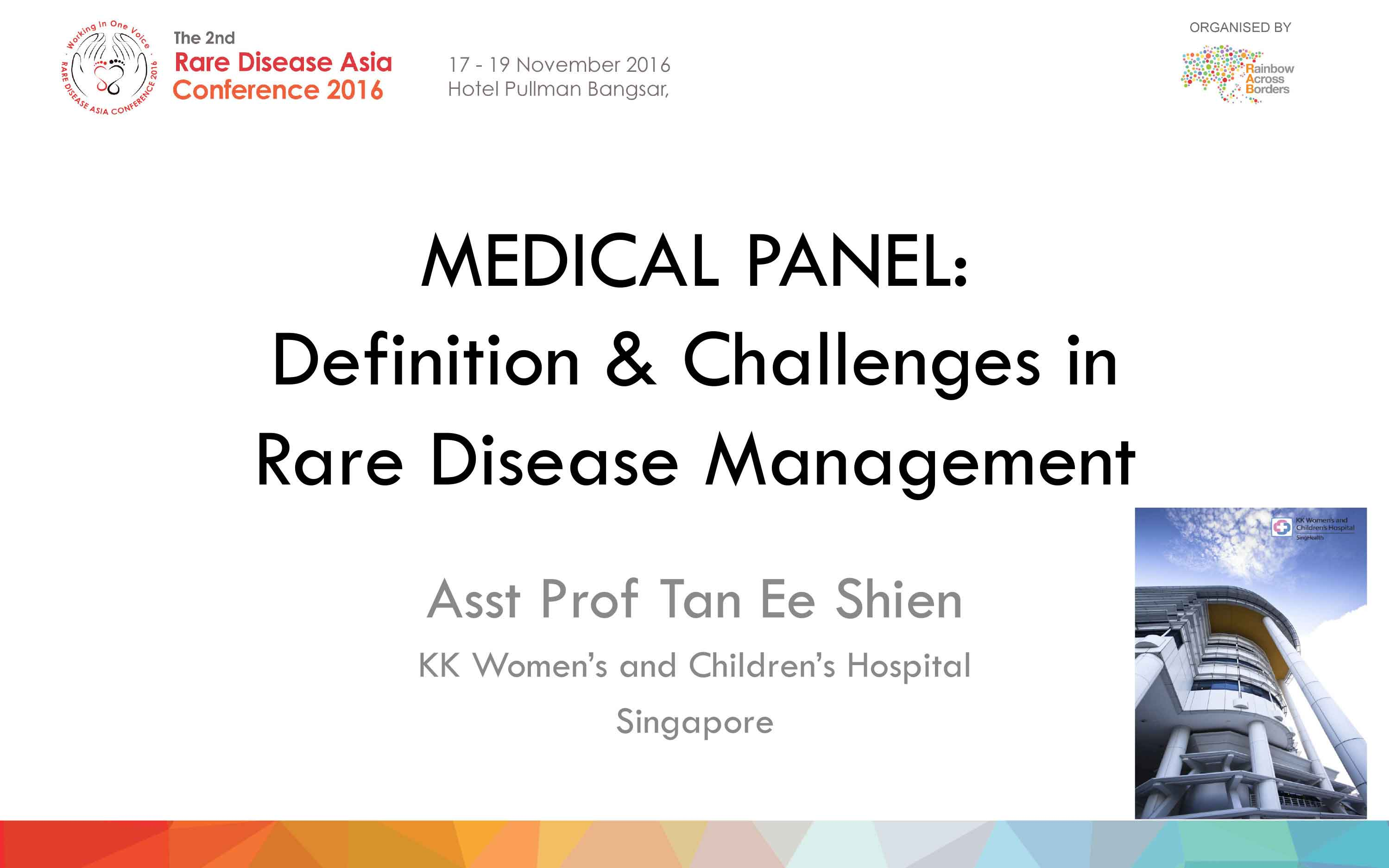Medical Panel_Asst Prof Tan Ee Shien - Singapore
