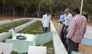 Installing PMF Enclosure at BDU, Tiruchirapalli, India