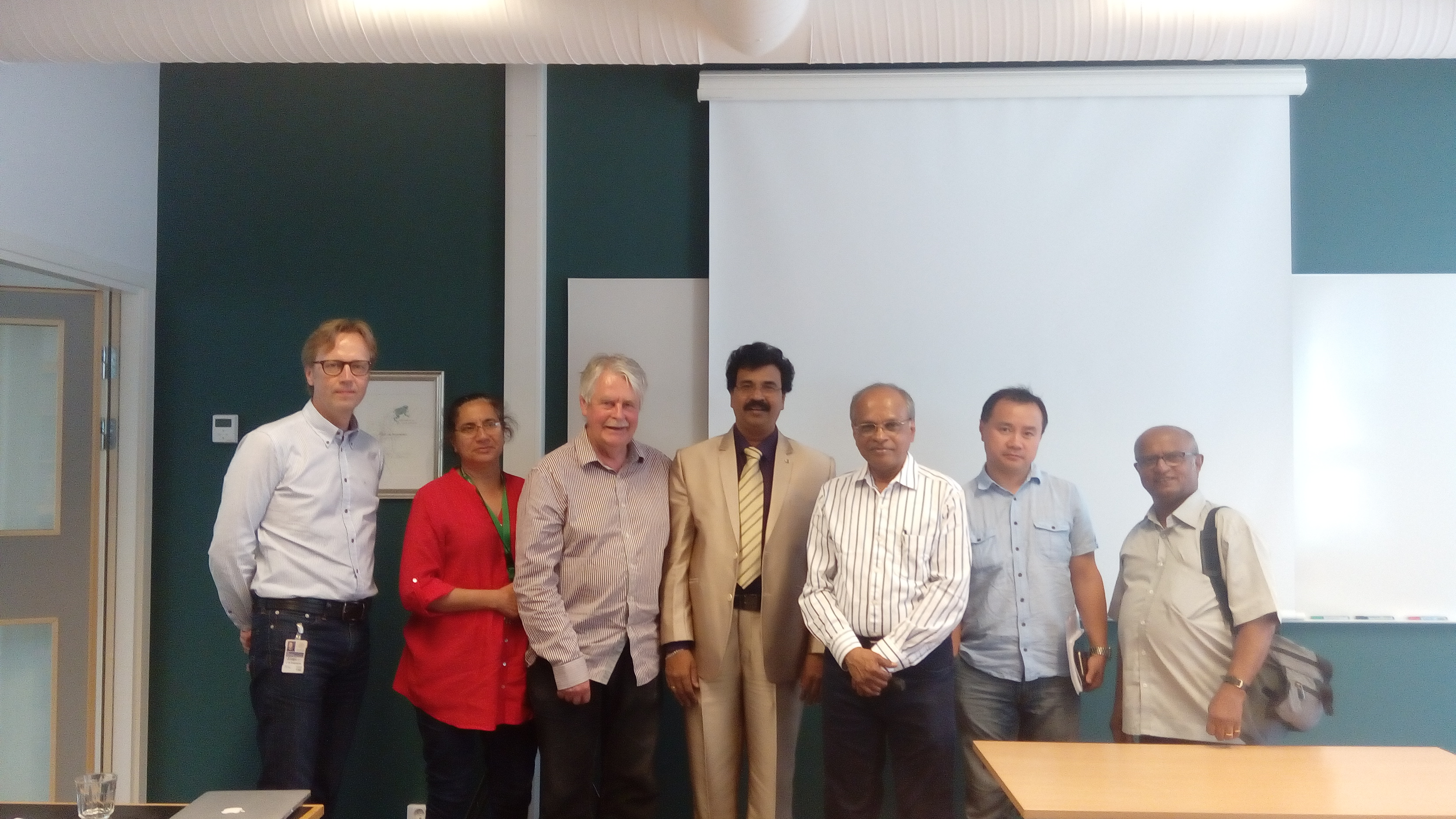 Collaboration with Lund University, Sweden
