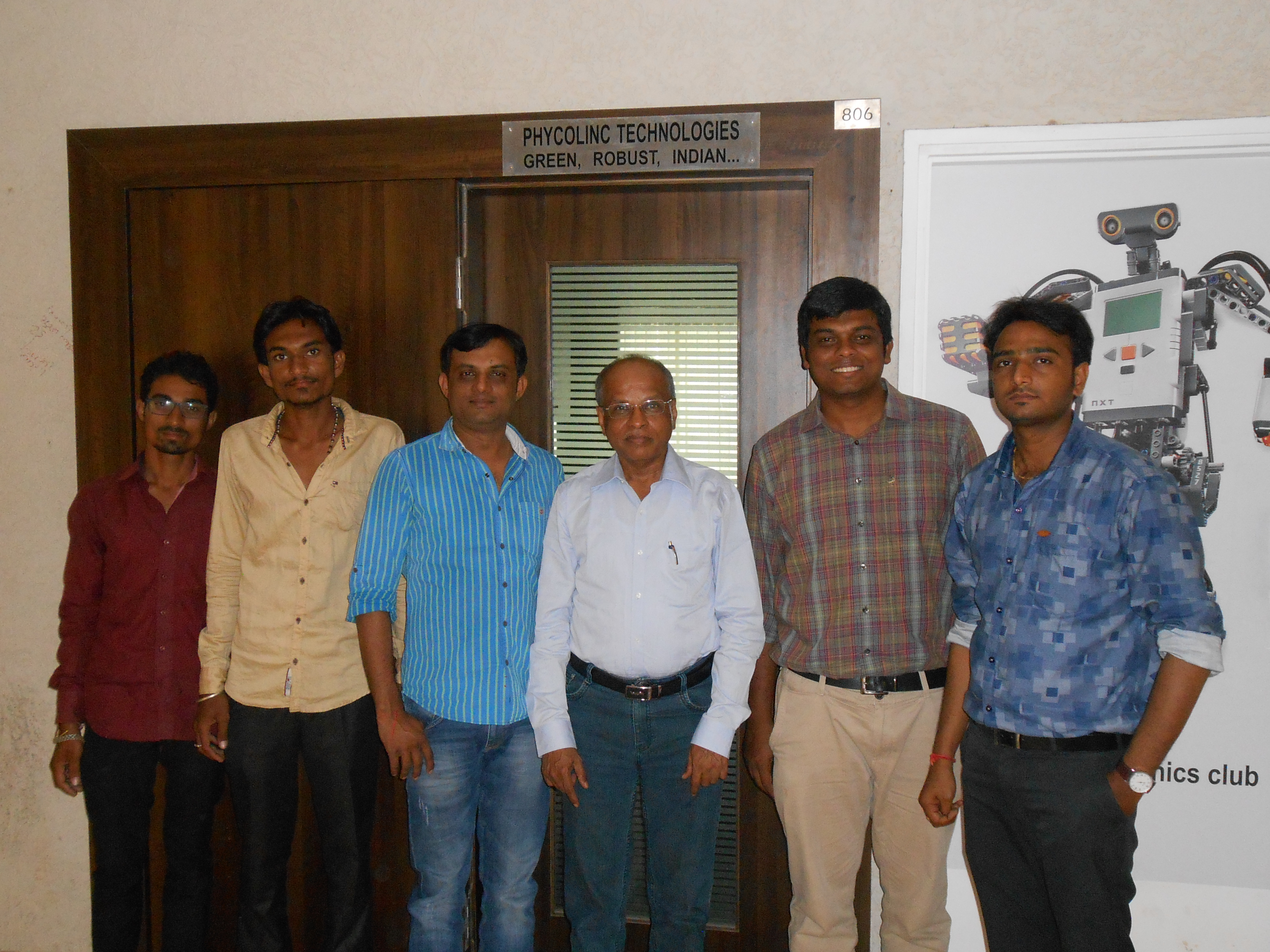 OUR TEAM at PHYCOLINC TECHNOLOGIES PVT LTD