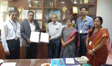 MOU with KCG College of Technology Chennai