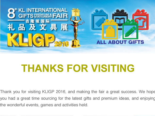 KLIGP thanks for visiting