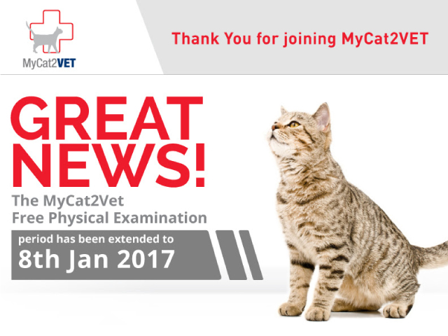 MyCat2Vet- thanks for joining