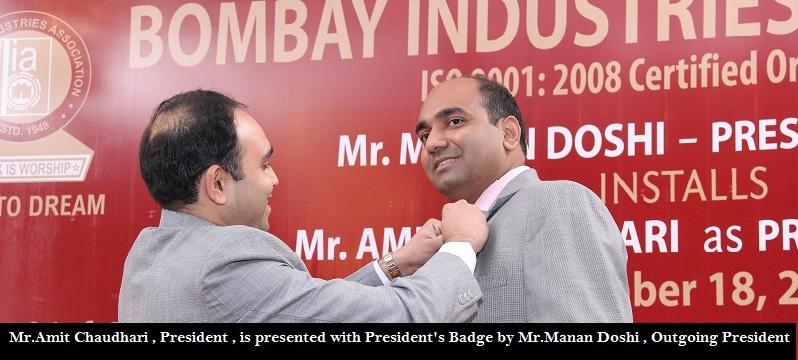 Past Presidents Bombay Industries Association