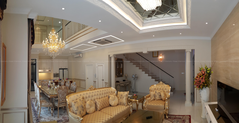 luxury classic semi d home shah alam 4 - D Classic Interior Design