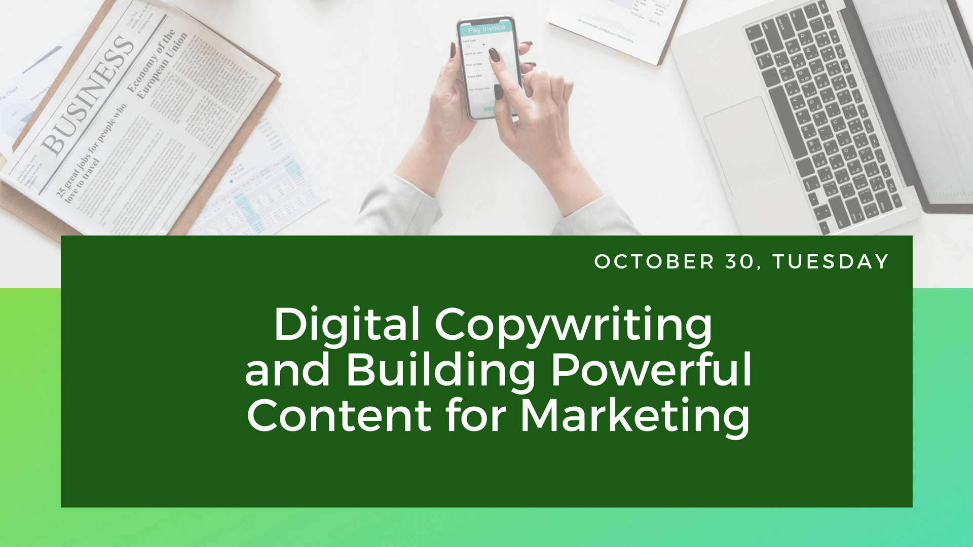 Content Marketing Oct 30