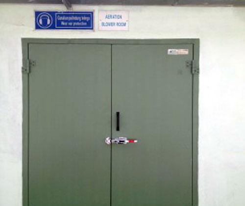 Acoustic Door & Acoustic Door - ISTIQ Noise Reduction Services