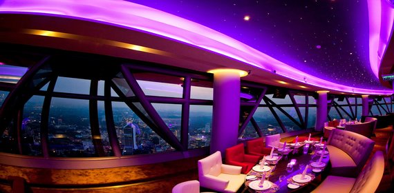 Dine in a spaceship
