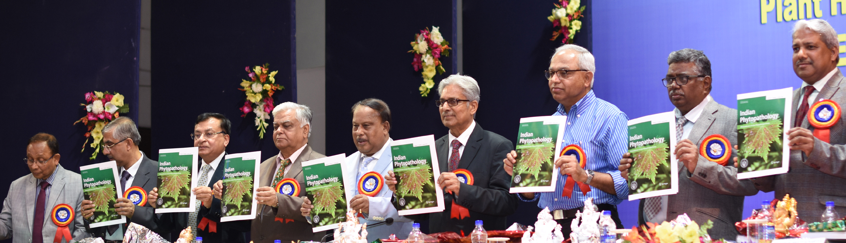 Release of coverpage of journal in National Symposium, AAU, Jorhat, Assam, Feb. 15-17, 2018