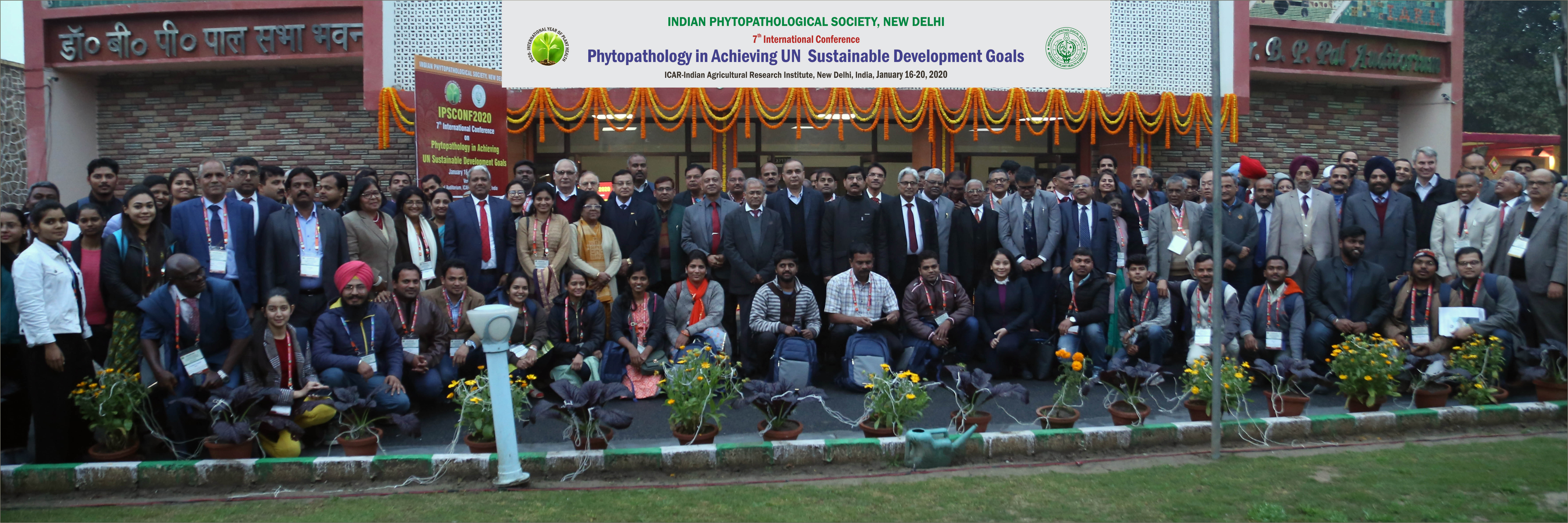 Welcome to the Society - Indian phytopathological Society