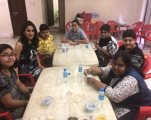 Health counseling camp with PWS (Prader-Willi Syndrome) children