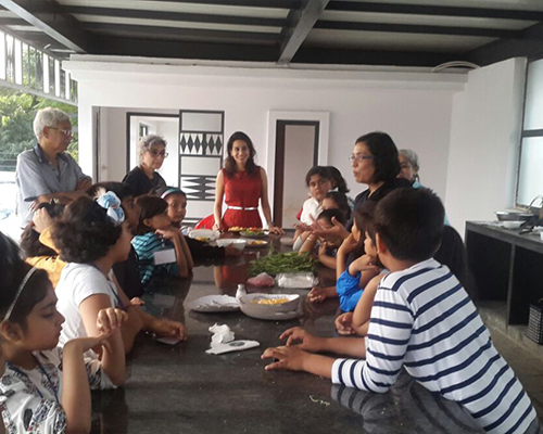 Talk on Earthen food for kids