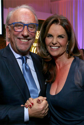 MARIA SHRIVER AND ROBERTO COIN