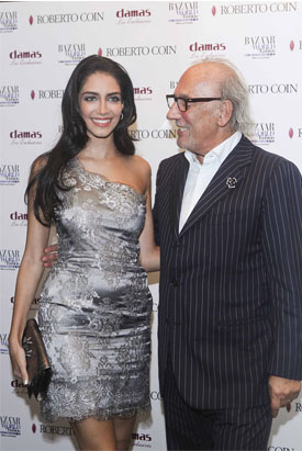 MR ROBERTO COIN AND KESSICA KAHAWATY