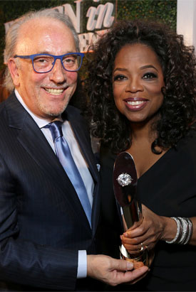 OPRAH WINFREY AND ROBERTO COIN