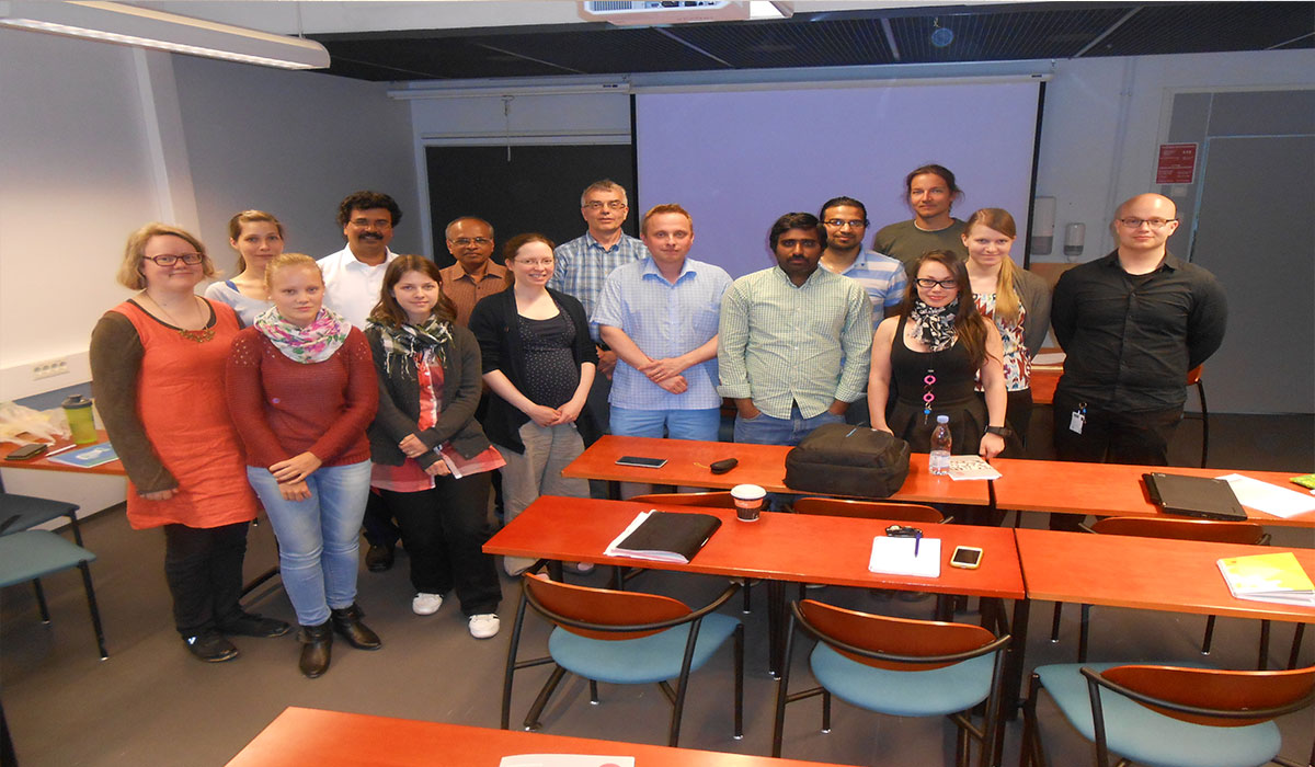 Collaboration with Tampere University of Technology, Finland