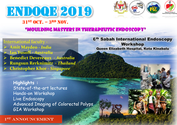 ENDO QE 2019 6TH SABAH INTERNATIONAL ENDOSCOPY WORKSHOP