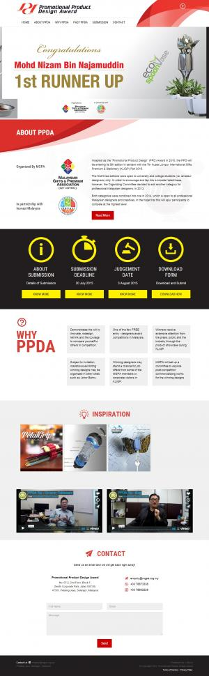 PPDA - Web Design
