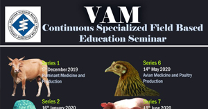 VAM Continuous Specialized Field Based Education Seminar