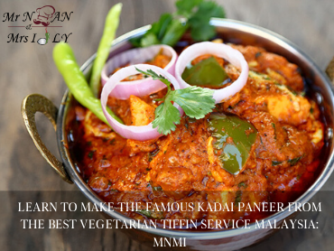 vegetarian tiffin service