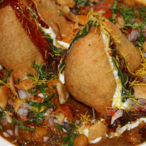 SAMOSA CHOLEY CHAAT