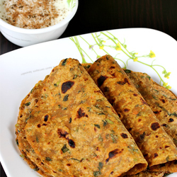 MIX VEG PARATHA SET