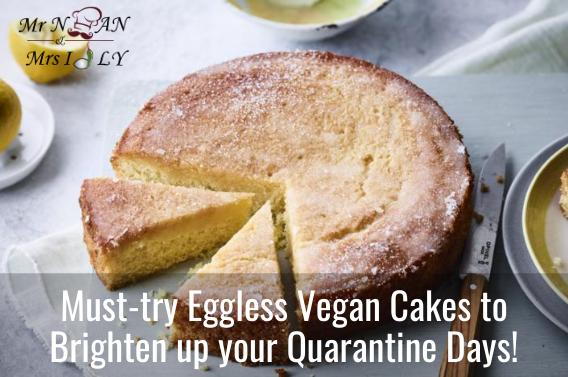 eggless vegan cakes