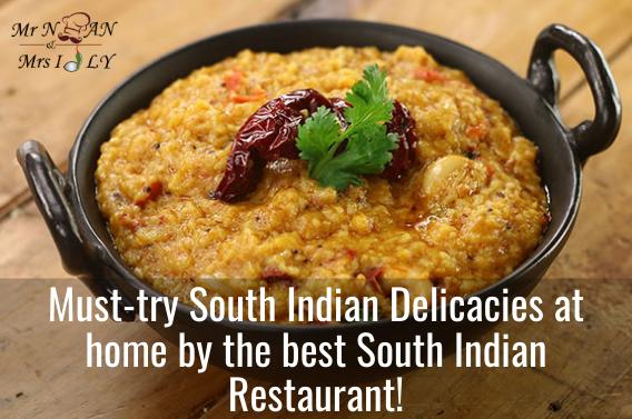 South Indian restaurants KL.