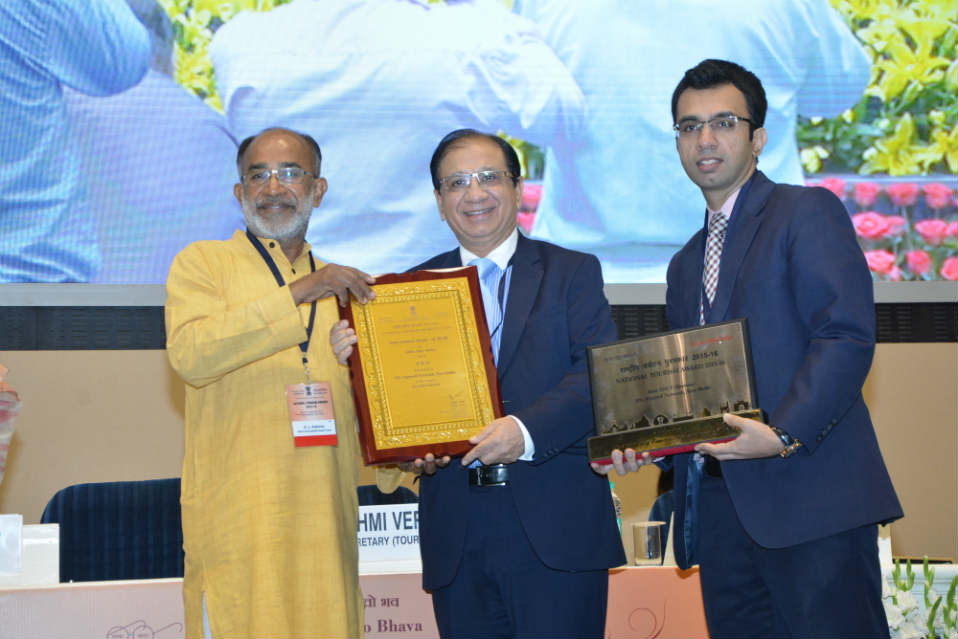 National Tourism  Award<br>2015-2016