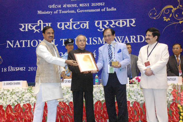 National Tourism Award 2013-14