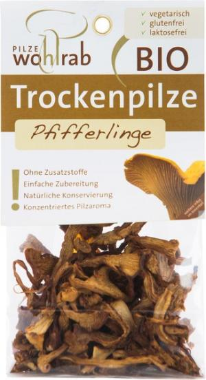 Pfifferlinge (cantharellen) gedroogd
