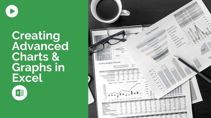 Free Course - Creating Advanced Charts and Graphs in Excel