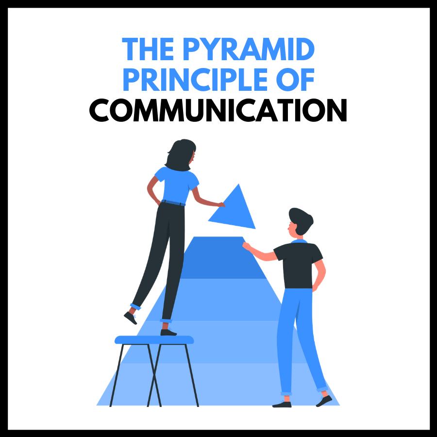 The Pyramid Principle of Communication