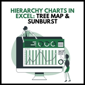 Hierarchy Charts in Excel- Tree Map & Sunburst