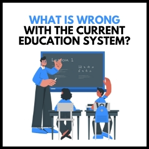What Is Wrong With The Current Education Situation?