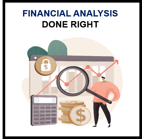 Financial Analysis Done Right!