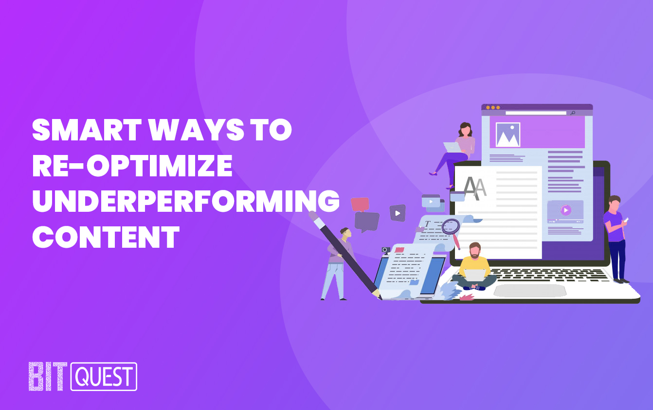 Smart ways to re-optimize underperforming content