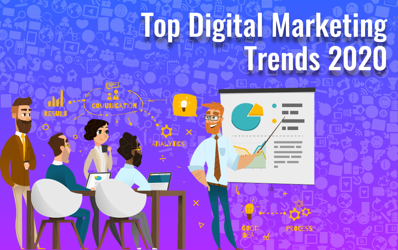 LATEST DIGITAL MARKETING TRENDS FOR THE YEAR 2020