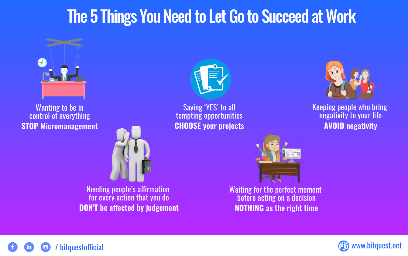 5 Things You Should Avoid to Succeed at Work