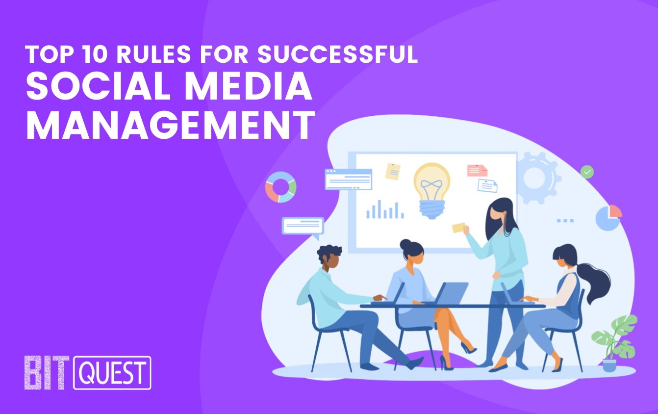 Top 10 rules for successful social media management