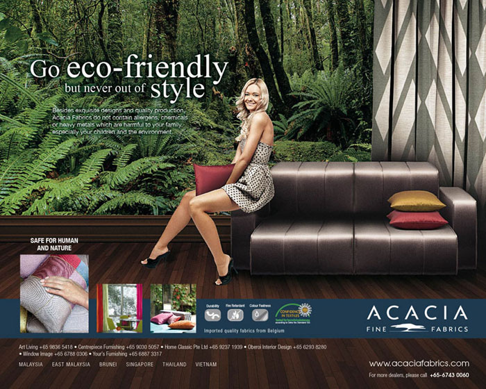Acacia eco-friendly