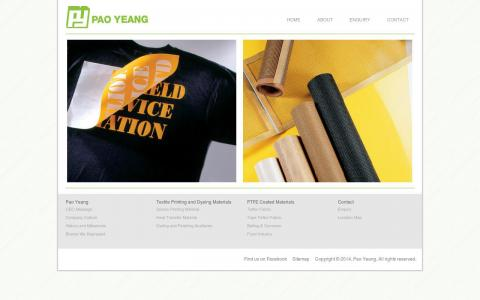 Pao Yeang - Website Design