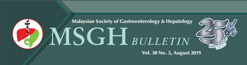 MSGH Bulletin Vol. 30 No. 2, August 2019