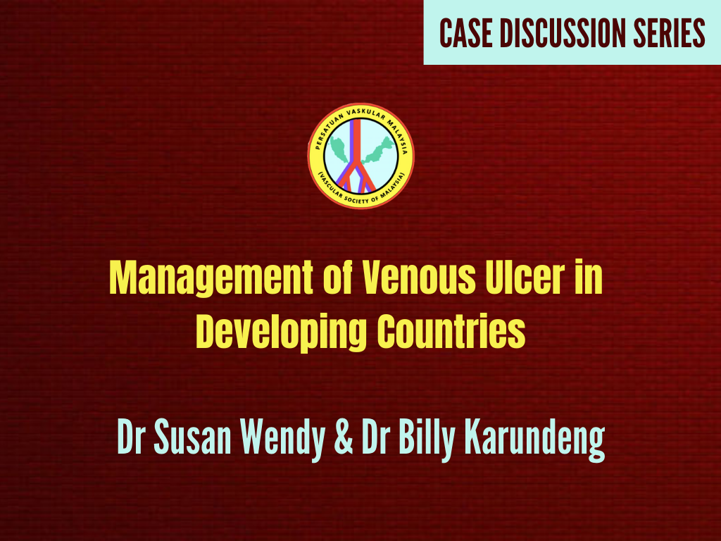 Management of Venous Ulcer in Developing Countries