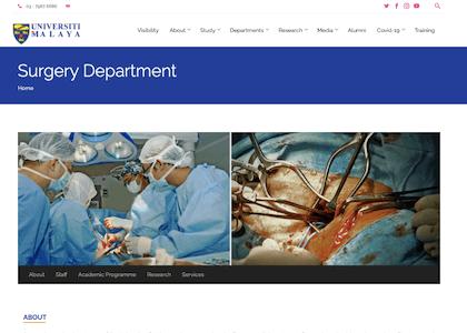 Surgery Department, University of Malaya Medical Center