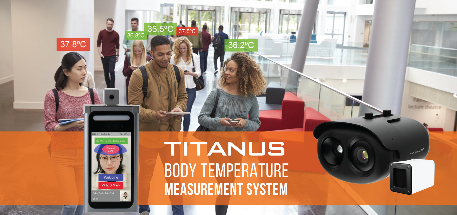 TITANUS Body Temperature Measurement System