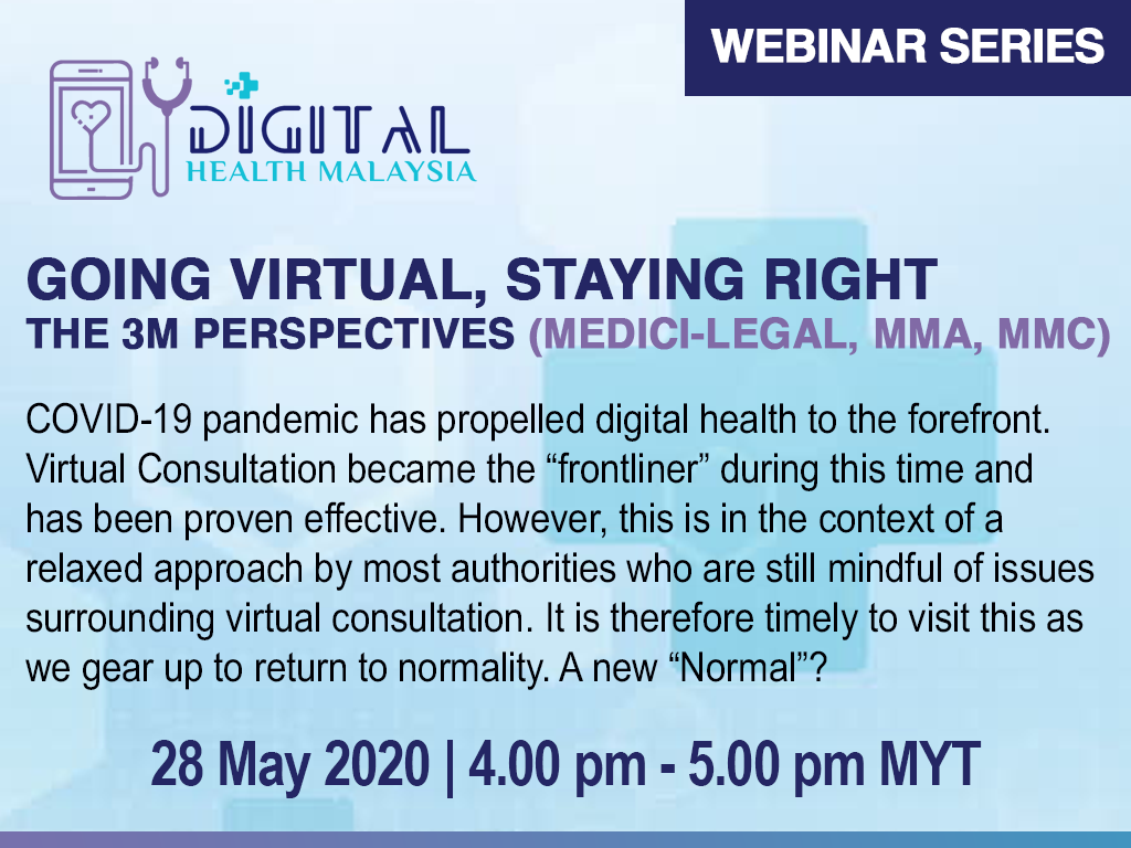 Going Virtual, Staying Right  The 3'M' Perspectives