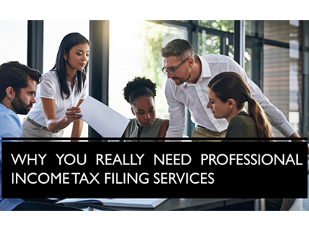 Why You Really Need Professional Income Tax Filing Services